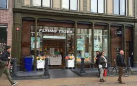 Eem noar... Flying Tiger aan de Vismarkt