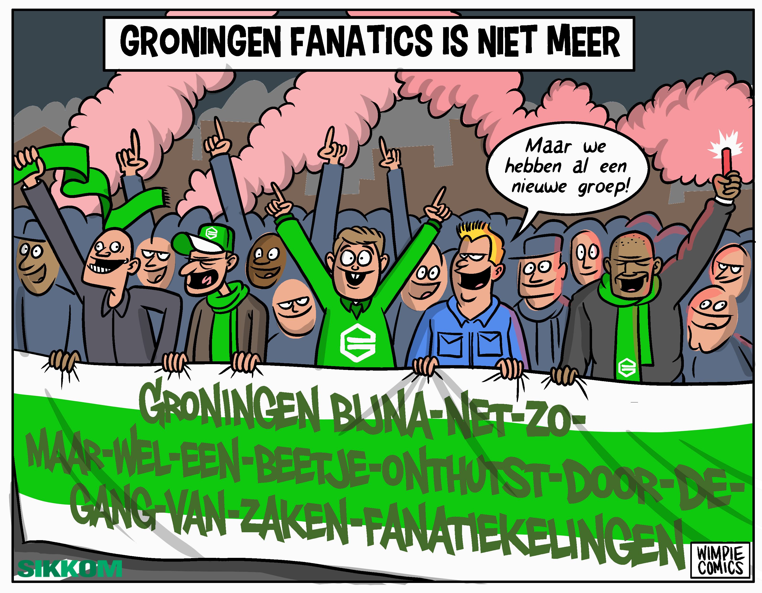 Einde Groningen Fanatics: the aftermath